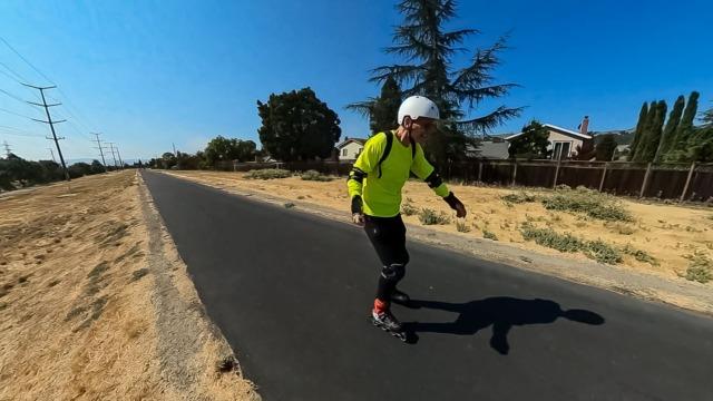 Iron Horse Trail Skating